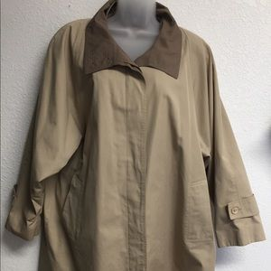 London Fog Double-breasted Trench Coat 14 Reg